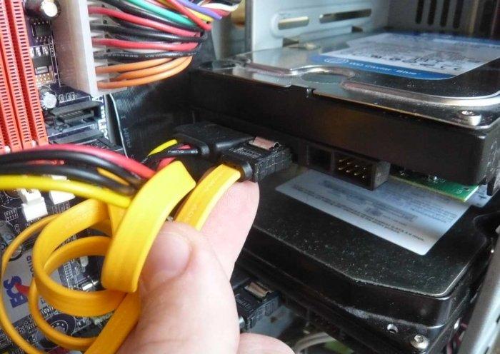 Как подключить второй жесткий диск