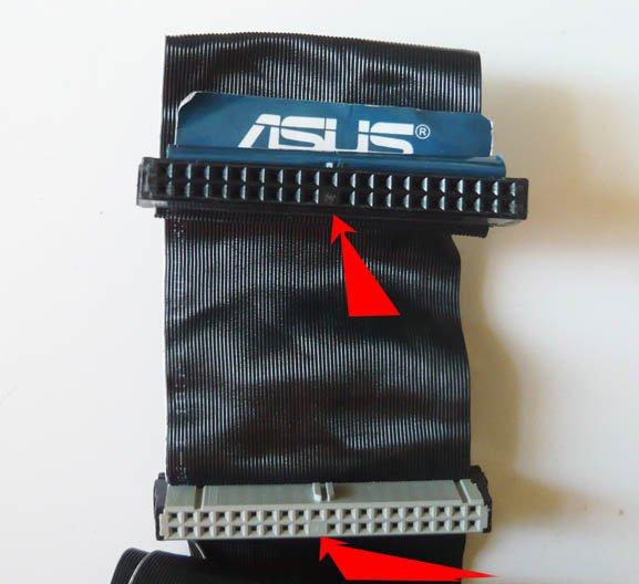 Подключаем жесткий диск IDE к