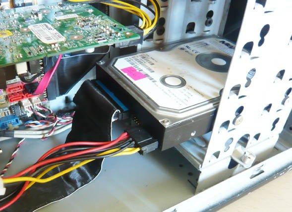 наш жёсткий диск IDE мы