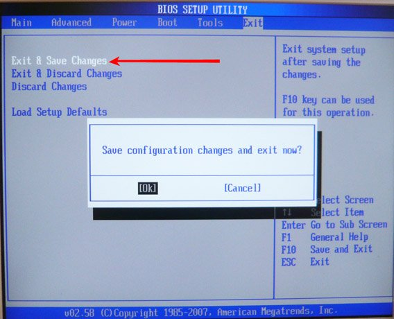 Долго загружается компьютер windows 7 биос