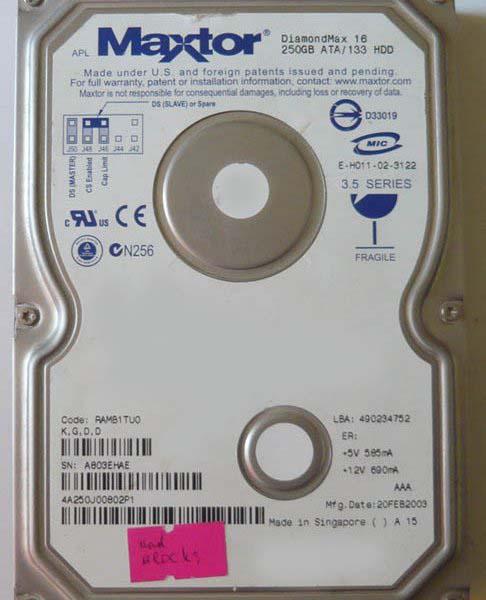 Как подключить жесткий диск ide