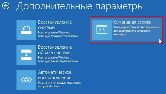 подготовка автоматического восстановления windows 8.1