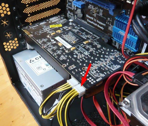 Стандартный мост pci pci при установке видеокарты