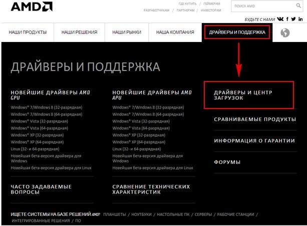 Amd Официальный Сайт На Русском Скачать Драйвер Видеокарты - фото 5