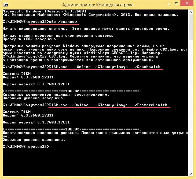 проверка системных файлов Windows 8.1 - фото 9