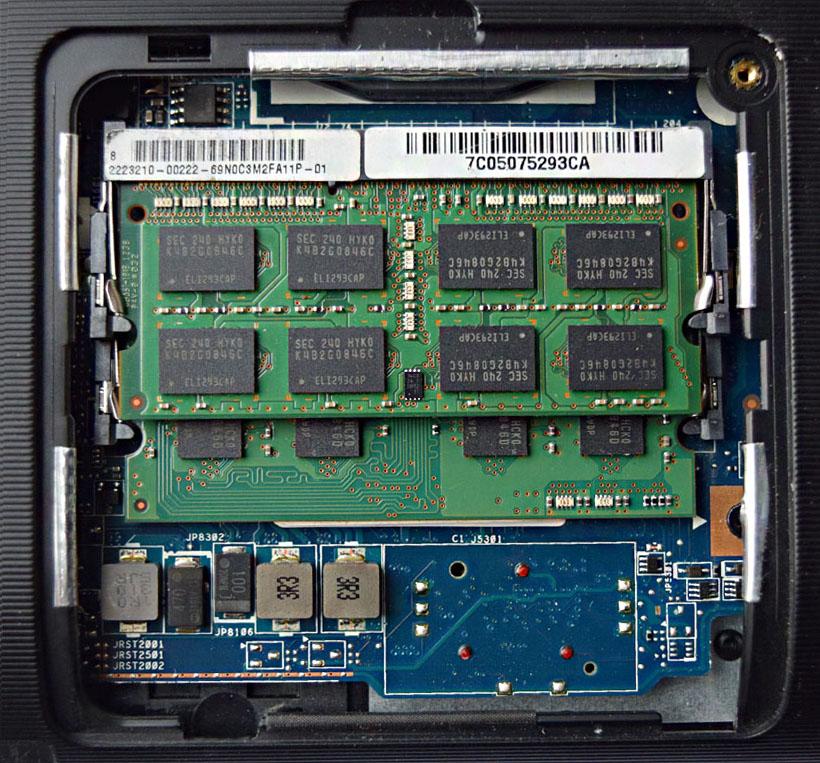 Ноутбук не работает один слот памяти