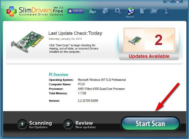 Программу для обновления драйверов на windows 7 с официального сайта