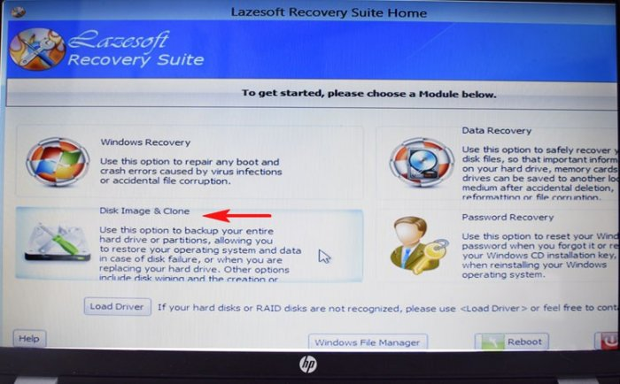 Lazesoft Recovery Suite Home инструкция