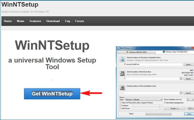 Winntsetup инструкция как пользоваться - фото 9