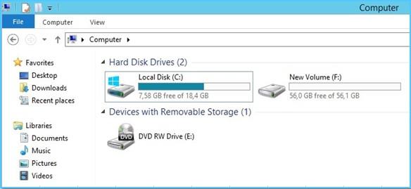 Как удалить виртуальный диск web сервера что такое хостинг для сайтов