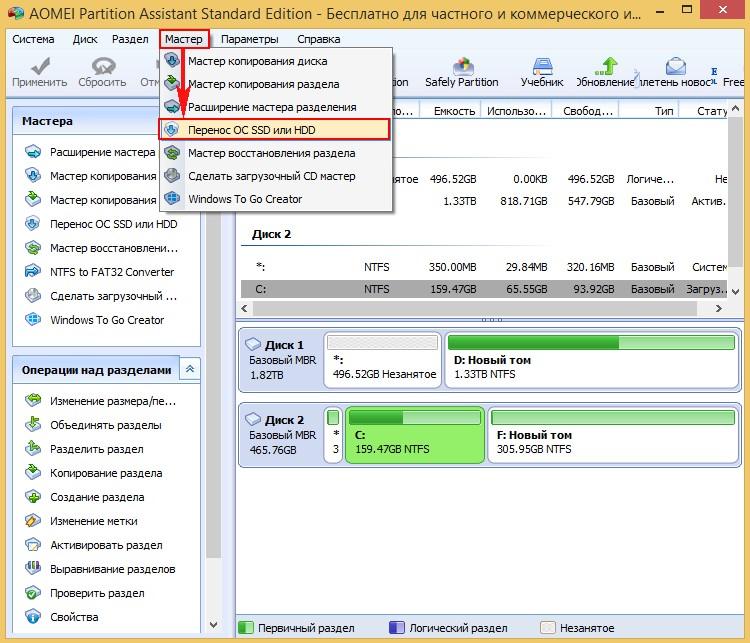 Как переписать установленный windows на диск