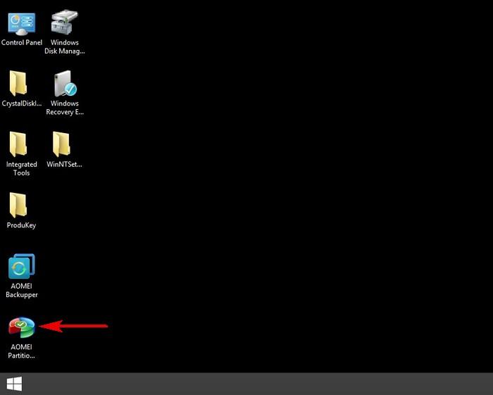 Paragon Disk Manager Загрузочная
