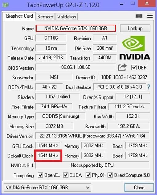 разгон видеокарты 1060 6gb для майнинга