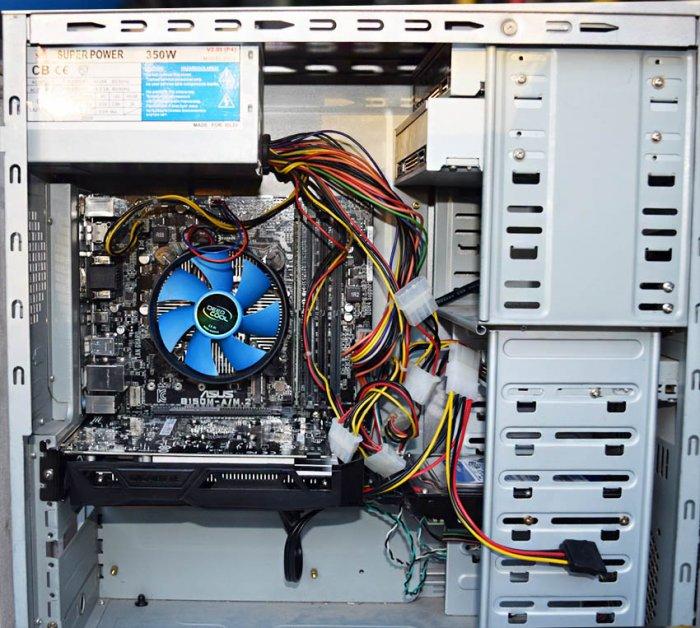 Игровой компьютер всего за 20000 рублей!