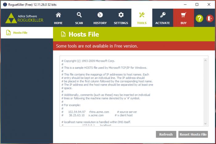 RogueKiller Anti-Malware — тщательный поиск угроз и нежелательных программ