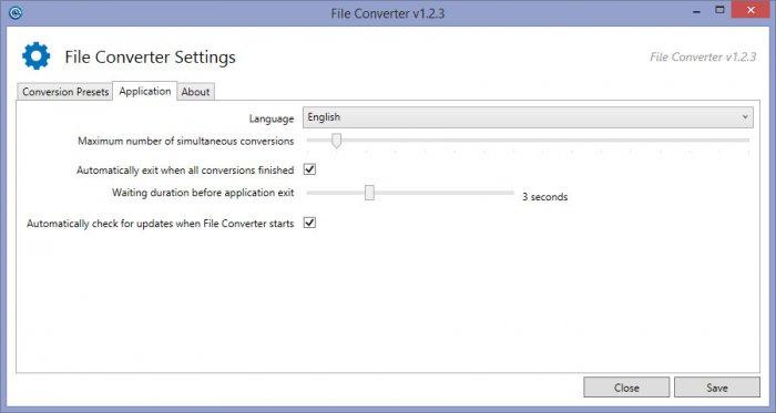 File Converter — быстрый интегрируемый в Проводник конвертер файлов