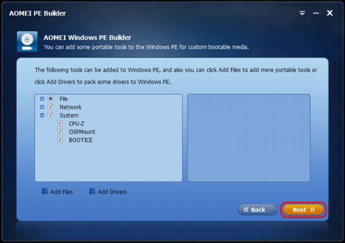 Обновлённый AOMEI PE Builder: создаём свою сборку LiveDisk на базе Windows 10