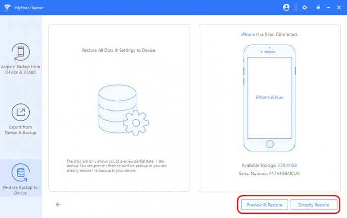 Программа iMyFone iTransor для гибкого бэкапа данных iPhone, iPad и iPod touch + 20% скидки на покупку лицензии