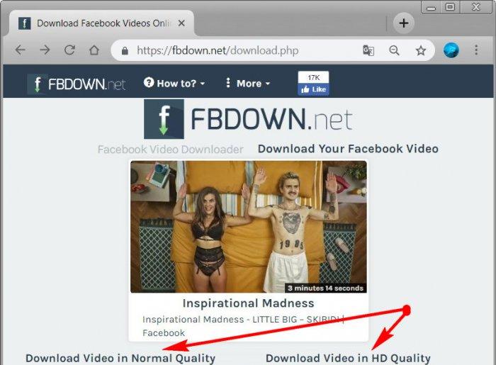Как скачать видео с Facebook на компьютере