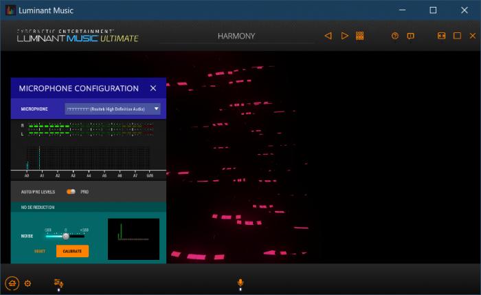 Luminant Music – аудиоплеер и визуальный эквалайзер с 3D графикой