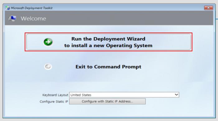 Создание WIM-образа Windows 10 с установленным софтом с помощью Microsoft Deployment Toolkit и развёртывание образа по сети